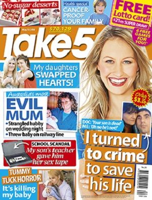 Take 5 - 15 May 2014 #magazines #magsmoveme  http://www.take5mag.com.au/