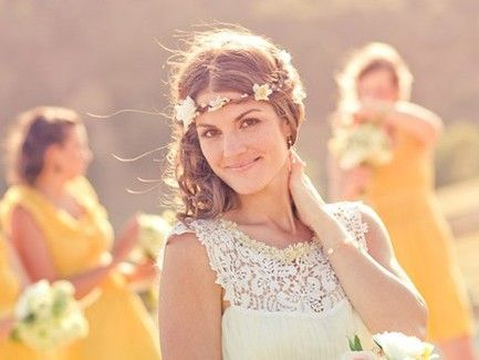 Maiden Floral Vine Crown - so pretty - even if you're not getting married, you might want one $50