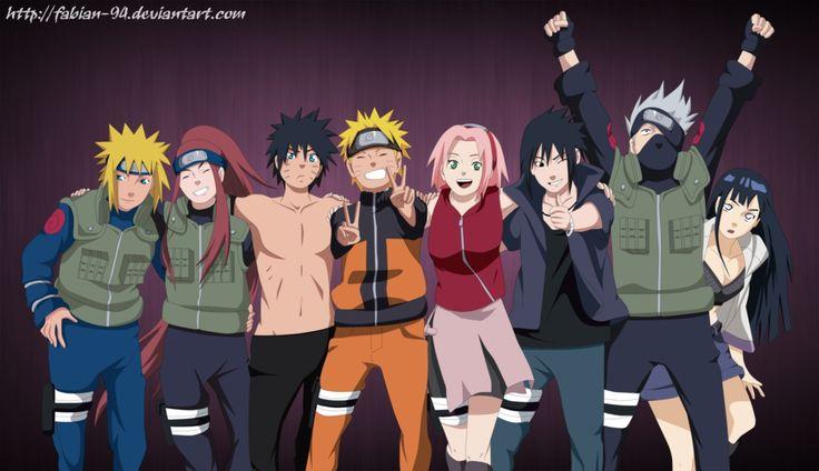 Road to Ninja: Naruto la Película Minato Namikaze, Kushina ...
