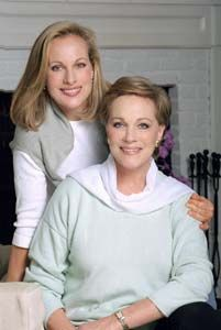 Julie Andrews and her daughter Emma Walton (Hamilton)