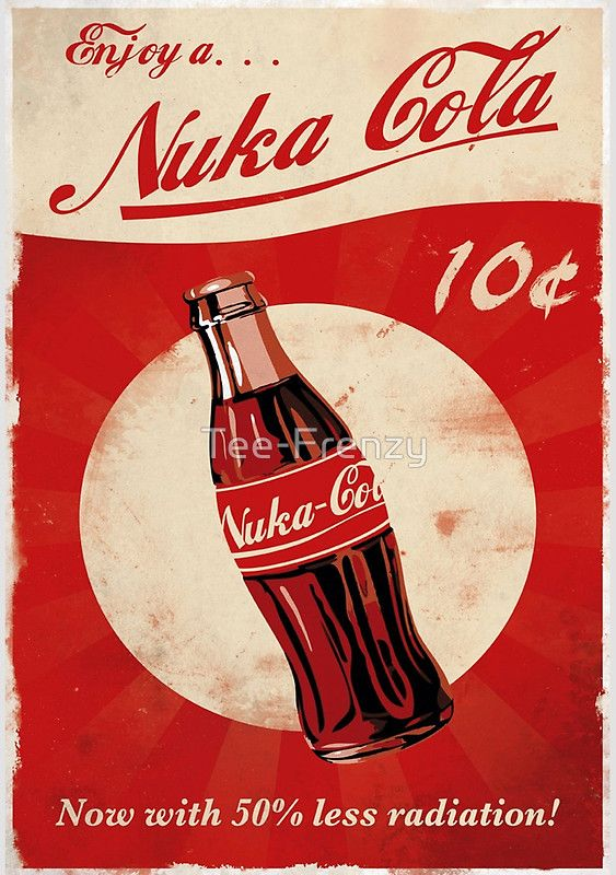 Nuka Cola | Ryan's man cave | Fallout posters, Fallout ...