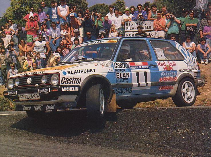 Tour de Corse 1990 - Baumschlager Raimund - Zeltner RubeniconVolkswagen Golf GTi 16V