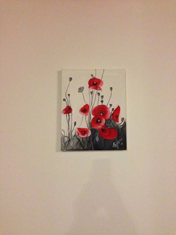 Poppies for sale 15€