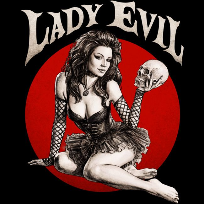 Lady Evil is a Tank Top designed by moutchy to illustrate your life and is available at Design By Humans