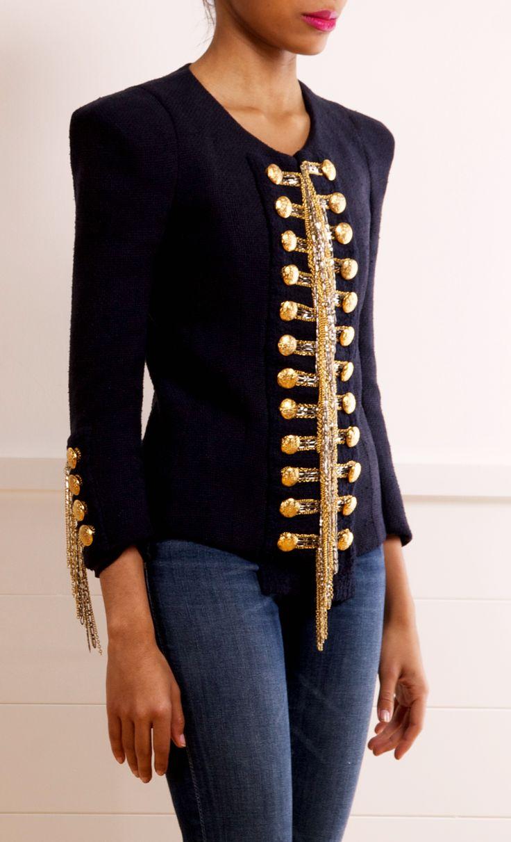 Balmain jacket. Love it!