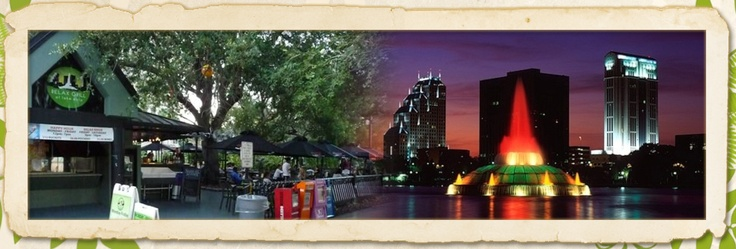 Relax Grill on Lake Eola - Great place for food and live music.  After take a walk around the lake or head for some fun downtown.