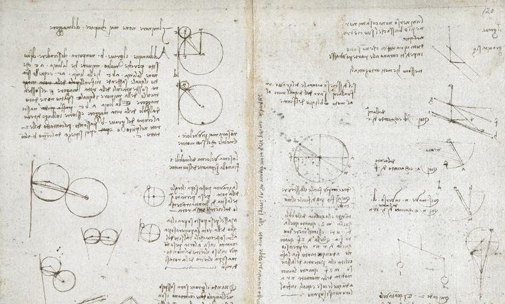 Mais 570 manuscritos do Leonardo Da Vinci disponíveis online