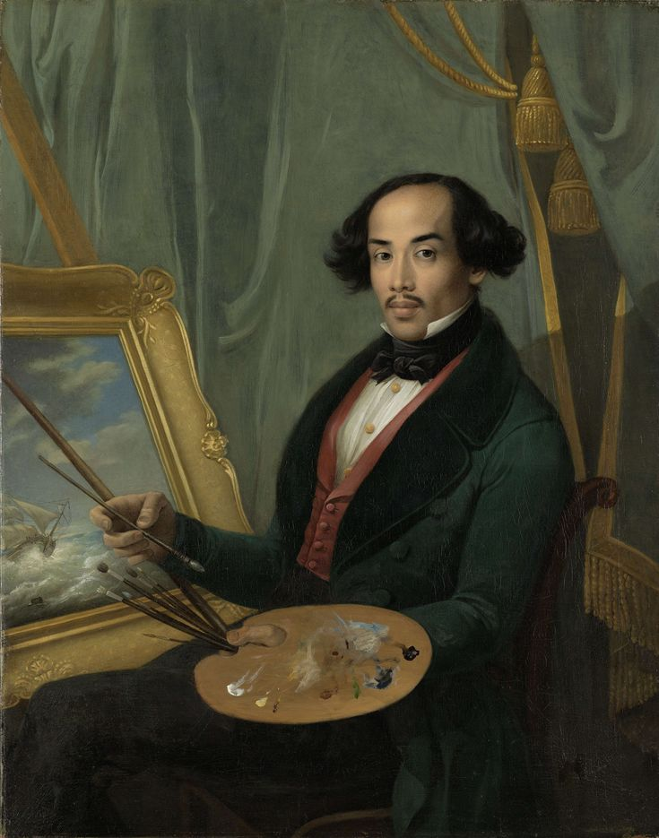 Raden Sarief Bastaman Saleh (1811-1880), schilder van cultuur en natuur van Nederlands-Indië in Europese stijl.