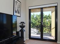 1 lite commercial grade aluminium French doors, clear safety glass and premium quality hardware. Door Stop French doors can be fully installed and come with a 7 or 10 year guarantee French doors at Door Stop