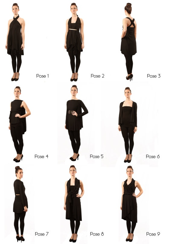 Infinity dress mod. PARIGI by MartSharingIdeas on Etsy, €40.00