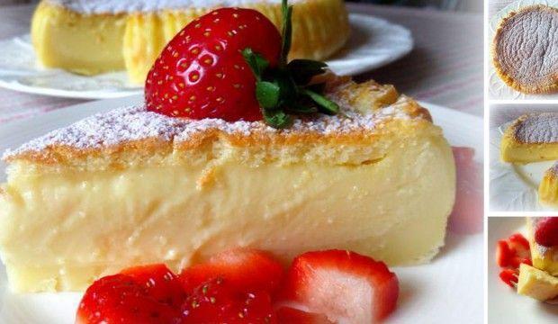 Neuvěřitelně krémový koláč Custard