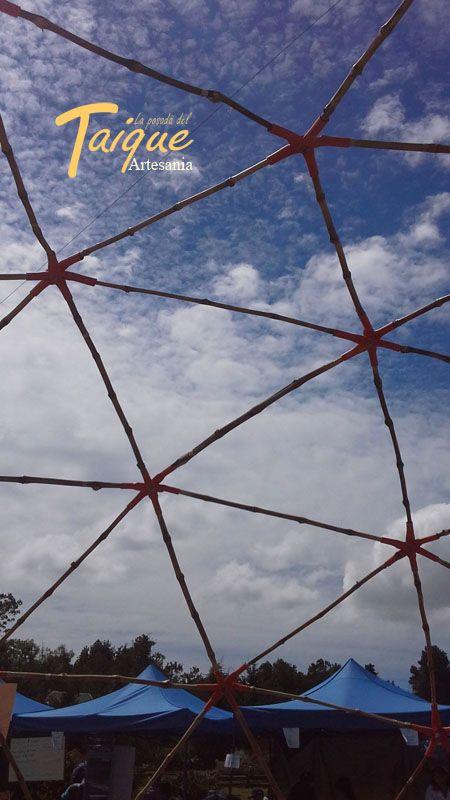 Estructuras de Quila (Bambú  Chileno)