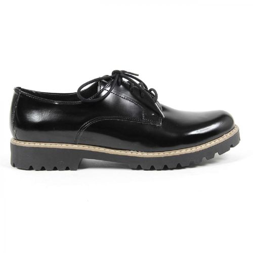 V 1969 Italia Womens Oxford Shoe MARGIE 2 ABRAS. NERO