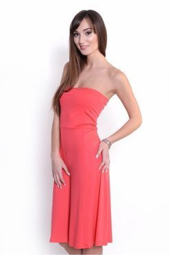c121c47c59 Korálová sukňa šaty 2v1 OX8205