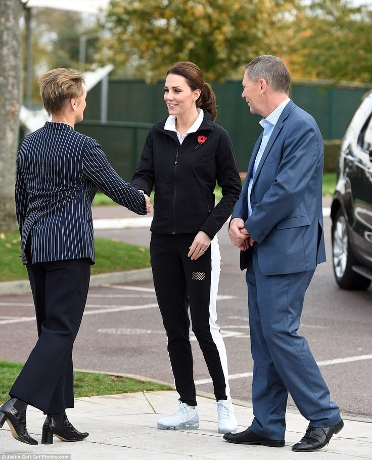 Kate displayed just the tiniest hint of a baby bump this morning as she undertook her first solo engagement since recovering from severe morning sickness