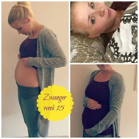 Zwanger week 15 update: Zwangerschap 15 weken babybump en ervaringen blog