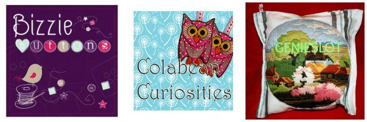 Partners in Crafts Team 8 Bizzie Buttons Colabean Curiosities GENIESLOT