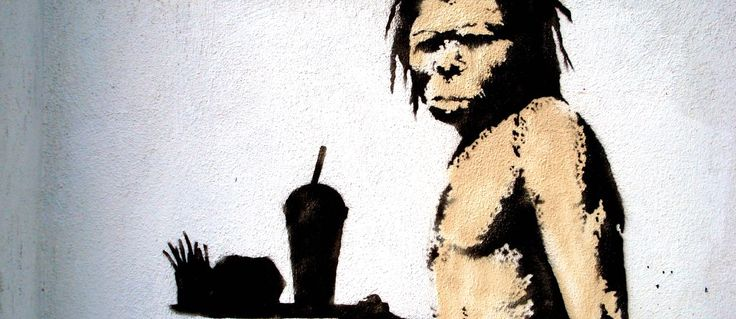 """The """"paleo diet"""" is complete BULLSHIT. Here's why.  http://nutritionfacts.org/2013/02/21/the-real-paleo-diet/"""