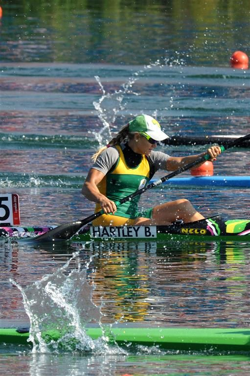 Bridgitte Hartley wins bronze in Olympic sprint kayak | The South African