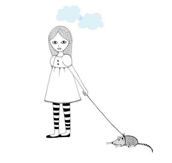 mouse girl - Nalisha Chouraria