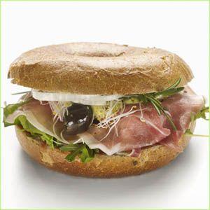 Spansk Serrano sandwich........