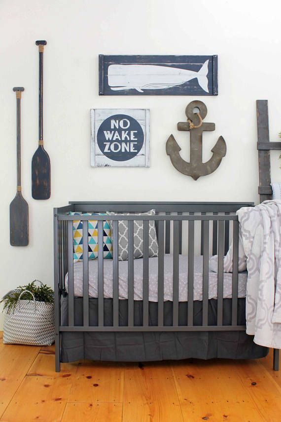 Love This Rustic Nautical Nursery Beach Cabin Wooden Sign Baby