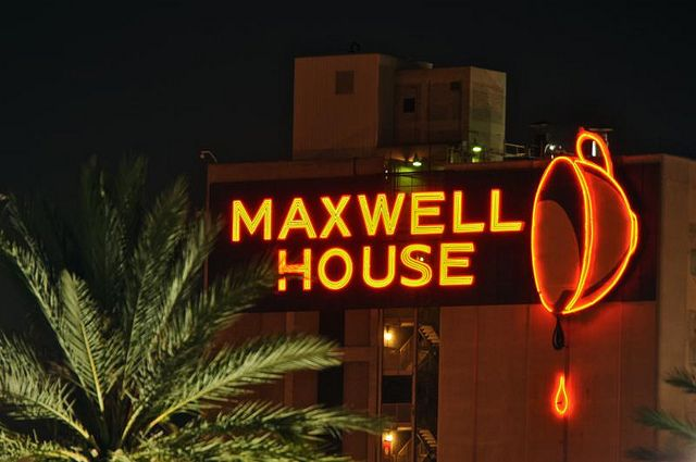 Maxwell House Coffee Neon, Jacksonville, Florida I smell this and have smelt this all my life!! sooooo good!!