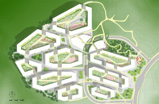 Seoul Gangnam District, public housing development - Seoul, South-Korea - Frits van Dongen