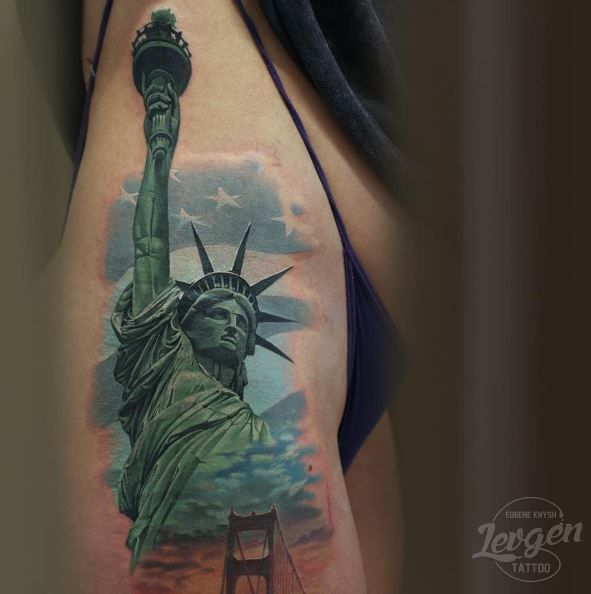 The Statue of Liberty Tattoo