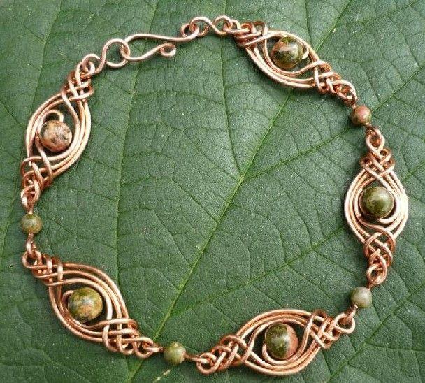 DIY Jasmine Celtic Pattern Bracelet