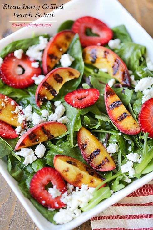 ... about Grilled Peach Salad on Pinterest | Salad, Grilling and Peaches