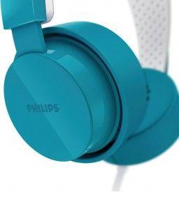 ¡Oferta del día! Graves profundos, dinámicos y potentes: Auriculares Philips SHL5205BL/10. Su banda de sujeción liviana con almohadillas autoajustables con cancelación de ruido garantiza un ajuste perfecto y comodidad mientras te sumerges en tu música favorita gracias a sus controladores potentes de 40 mm, que facilitan potentes sonidos graves y dinámicos. #auriculares #audifonos #philips