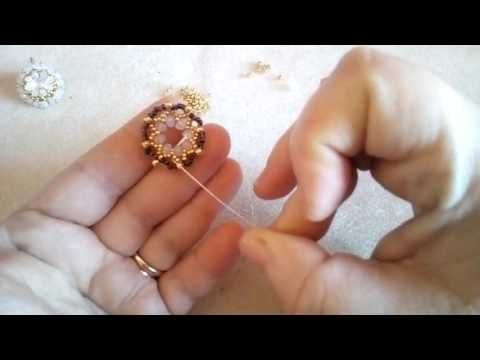 (57) Tutorial Orecchini Vanna (38) - YouTube