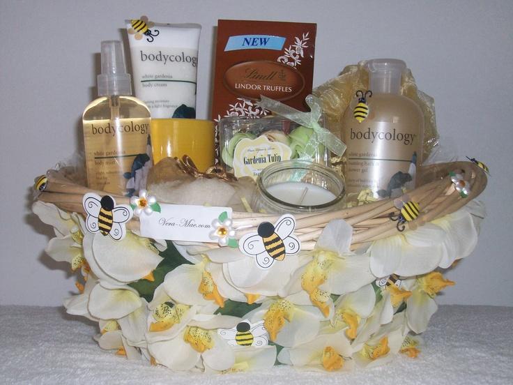 "Spa Gift Basket ~Honey Suckle  ""Item Sold"" http://www.bonanza.com/booths/pat21"