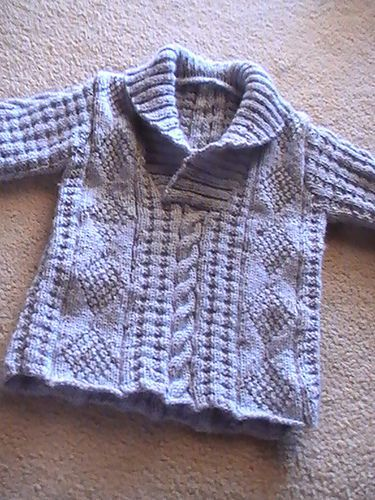 Aran Jumper by Cleckheaton - sizes up to 10