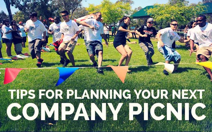 Tips for Planning Your Next Company Picnic | InkHead.com