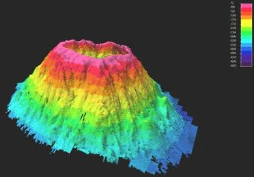 Seamount- A single inactive volcano found on theocean bot... - ThingLink