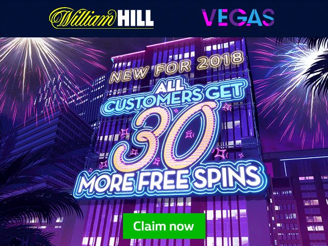 William Hill Casino New Free Spins Promotion