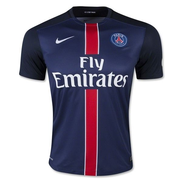 Nike Paris Saint Germain 15/16 Home Jersey (Navy/Red)