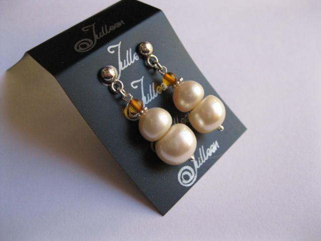 Bronte Earring – Pearl Jewellery