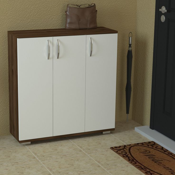 Racine Modern Shoe Rack / Storage Cabinet / Side Table