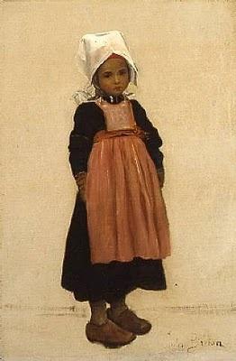 """""""Petite Bretonne,"""" Jules Breton"""