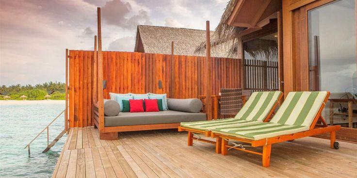 Furaveri Island Resort & Spa - private balcony