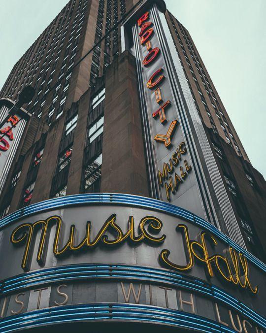 Radio City Music Hall, Rockefeller Center | NYC