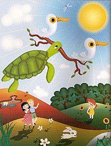 La tortuga y los patos http://www.encuentos.com/fabulas/la-tortuga-y-los-patos/