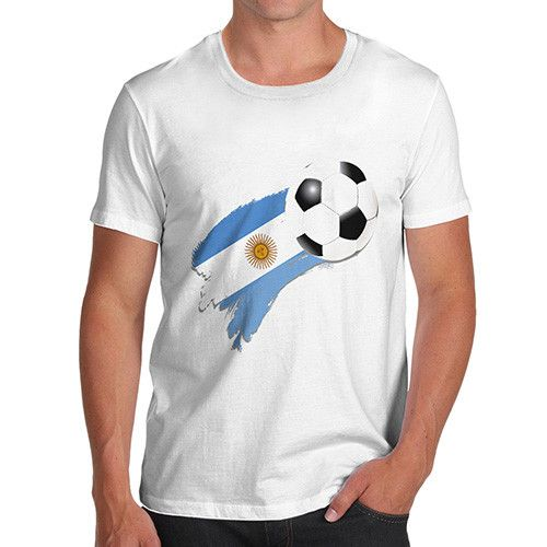 Argentina Footbal...  http://twistedenvy.com/products/argentina-football-flag-paint-splat-mens-t-shirt?utm_campaign=social_autopilot&utm_source=pin&utm_medium=pin   All artwork on Twisted Envy is created by artists from around the world.     #Twistedenvy
