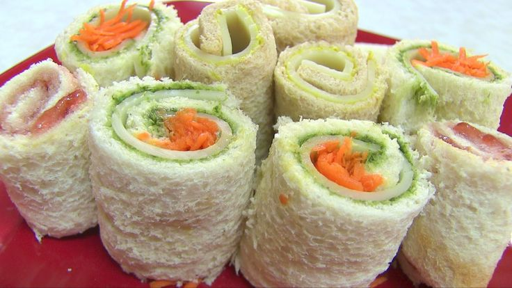 "Sandwich Rollups Recipe - Kid's Video Recipes - Perfect Summer Recipe... But because there are so many varieties of this Recipe taht you can create~ it is really a ""GREAT RECIPE"" to make all year long with the Kids and/or for your Family, too!!! :)  #aYummyKidRecipe  ~XOX"