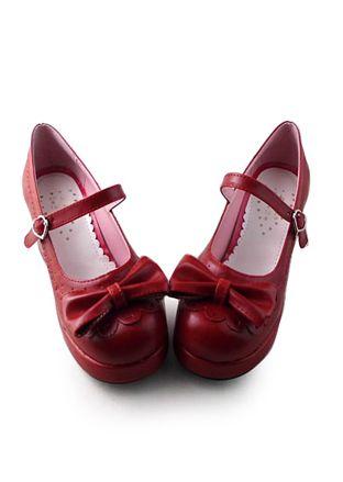Romantic: claret red