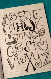 handwriting ideas...for bulletin boards and posters TIPO DE LETRA QUE PUEDEN USAR EN SUS VISUALES SIN NECESIDAD DE IMPRIMIR