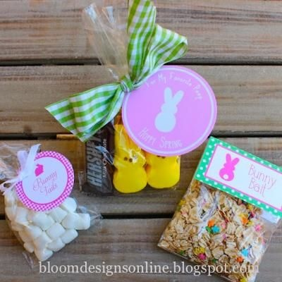 Cute FREE printables for your Easter treats....great for visit teaching!